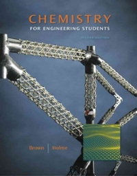 Chemistry for Engineering Students (2nd) edition 111178860X 9781111788605