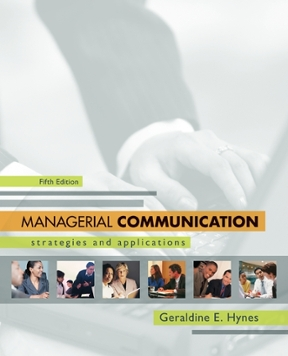 Managerial communication strategies and applications 5th edition managerial communication 5th edition 9780073377759 0073377759 fandeluxe Gallery