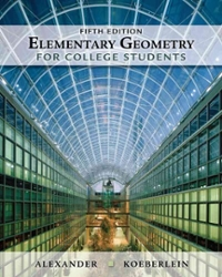 Elementary Geometry for College Students (5th) edition 1439047901 9781439047903