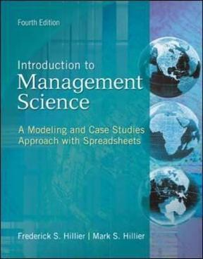 Introduction to management science a modeling and case studies introduction to management science 4th edition 9780078096600 007809660x view textbook solutions fandeluxe Gallery