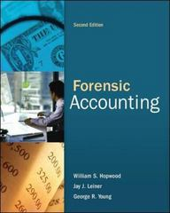 Forensic Accounting and Fraud Examination 2nd Edition 9780078136665 0078136660