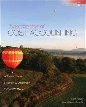 Fundamentals of cost accounting 5th edition rent 9781259565403 fundamentals of cost accounting 5th edition fandeluxe