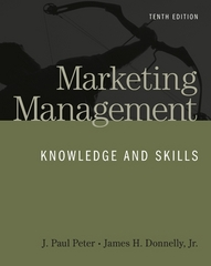 MARKETING MANAGEMENT 10th edition 9780073530055 0073530050