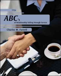 ABCs of Relationship Selling (12th) edition 0077499077 9780077499075