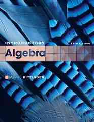 Introductory Algebra 11th edition 9780321599216 0321599217