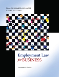 Employment Law for Business (7th) edition 9780073524962 0073524964