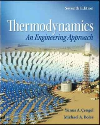 Thermodynamics (7th) edition 0077366743 9780077366742
