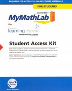 Pearsons top access codes chegg mymathlab vistaicollege standalone access card 1st edition 9780321507341 0321507347 fandeluxe Image collections