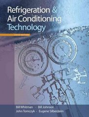 Refrigeration and Air Conditioning Technology 6th edition 9781428319363 1428319360