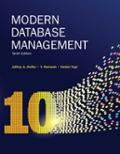 Modern Database Management Solution Manual Chegg Com
