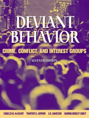 issues surrounding police deviant behavior Much like the discourse surrounding abstinence-only education  police investigated an incident at margaretta high school in castalia  deviant behavior.