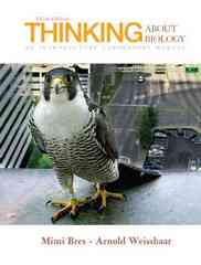 Thinking About Biology: An Introductory Laboratory Manual 3rd edition 9780132307369 0132307367