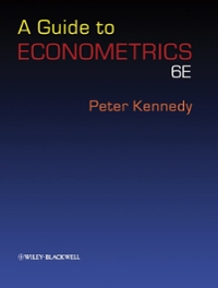 A Guide to Econometrics (6th) edition 9781405182577 1405182571