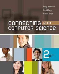 Connecting with Computer Science 2nd Edition 9781439080351 1439080356
