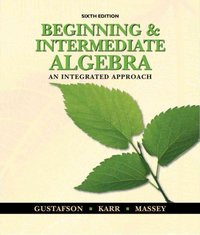Beginning and intermediate algebra 6th edition textbook solutions beginning and intermediate algebra 6th edition 9780495831433 0495831433 fandeluxe Gallery