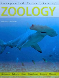 Integrated Principles of Zoology (15th) edition 0073040509 9780073040509