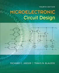 microelectronic circuit design 4th edition textbook solutions