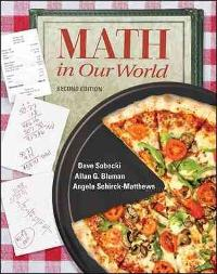 Math in Our World (2nd) edition 0077356659 9780077356651