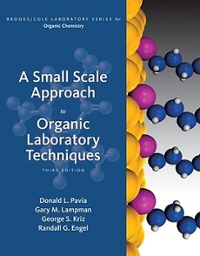 A Small Scale Approach to Organic Laboratory Techniques (3rd) edition 111178941X 9781111789411