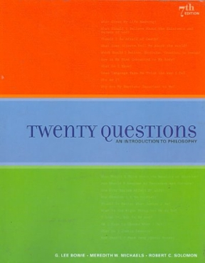 Twenty questions an introduction to philosophy 7th edition rent twenty questions 7th edition 9781439043967 1439043965 fandeluxe Gallery
