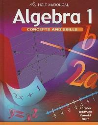 Algebra 1 - Concepts and Skills (0th) edition 9780547008332 0547008333