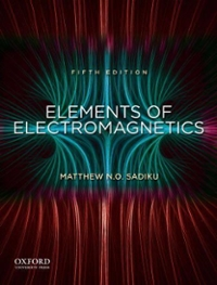 Elements of Electromagnetics 5th edition 9780195387759 0195387759