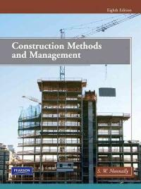 Construction Methods and Management (8th) edition 0135000793 9780135000793