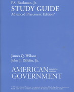 printed study guide for wilson s american government ap edition rh chegg com American Government 7th Edition american government brief version 11th edition study guide