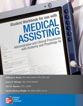 Student workbook for use with medical assisting administrative and student workbook for use with medical assisting administrative and clinical procedures with anatomy and physiology 5th edition fandeluxe Choice Image