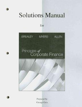 solutions manual to accompany principles of corporate finance 10th rh chegg com solution manual corporate finance ross westerfield jaffe 10th edition solutions manual corporate finance 10th edition pdf