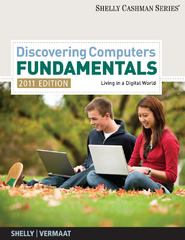 Discovering Computers - Fundamentals 2011 Edition 7th edition 9781439079454 1439079455