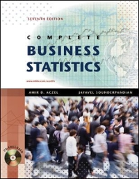 complete business statistics solved problems
