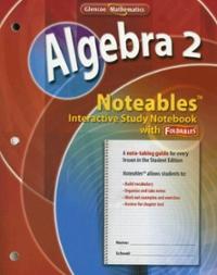 Glencoe algebra 2 noteables interactive study notebook with glencoe algebra 2 noteables 1st fandeluxe Choice Image