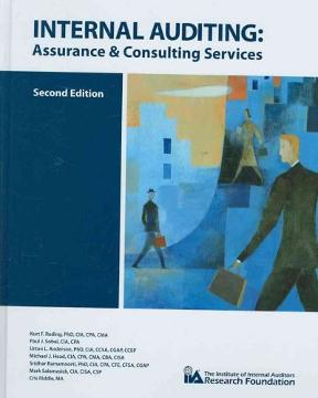 Internal auditing assurance and consulting services 2nd edition assurance and consulting services internal auditing 2nd edition 9780894136436 0894136437 fandeluxe Gallery
