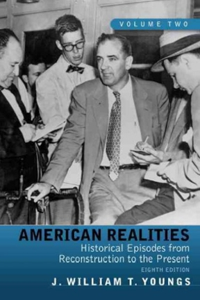 American realities historical episodes from reconstruction to the american realities 8th edition 9780205764136 0205764134 fandeluxe Gallery
