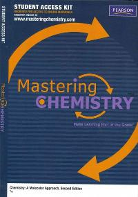 chemistry a molecular approach 2nd edition mastering chemistry access code
