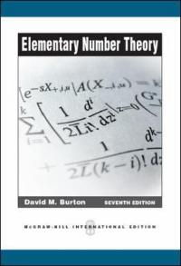 elementary number theory 7th edition textbook solutions chegg com rh chegg com Elementary Number Theory Questions student's solutions manual elementary number theory david burton pdf