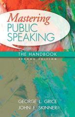 Mastering Public Speaking 2nd Edition 9780205747078 0205747078
