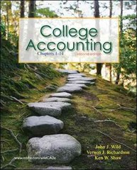 College Accounting 2nd edition 9780077268732 0077268733