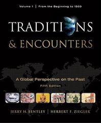Traditions & Encounters 5th Edition 9780077367947 0077367944