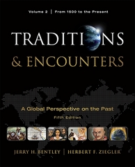 Traditions & Encounters 5th Edition 9780077368036 0077368037