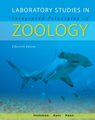 Laboratory Studies in Integrated Principles of Zoology 15th edition 9780073040516 0073040517