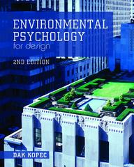 Environmental Psychology for Design 2nd Edition 9781609011413 1609011414
