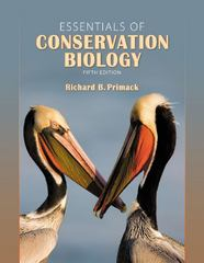 Essentials of Conservation Biology 5th Edition 9780878936403 0878936408