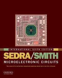 Microelectronic Circuits (6th) edition 9780199738519 0199738519