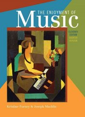 The Enjoyment of Music 11th Edition 9780393934151 0393934152