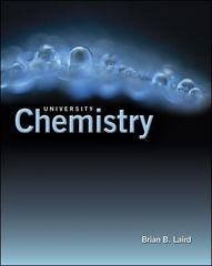 University Chemistry 0th edition 9780072969047 0072969040