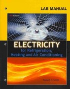 Lab Manual for Smith's Electricity for Refrigeration, Heating and Air Conditioning 8th edition 9781111038755 1111038759
