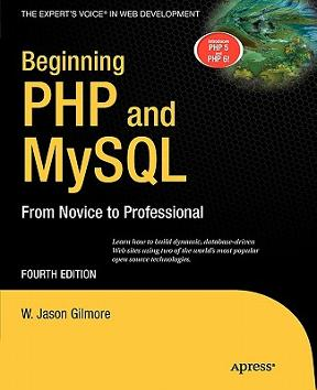 Beginning php and mysql from novice to professional 4th edition.