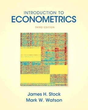 introduction to econometrics pdf stock watson